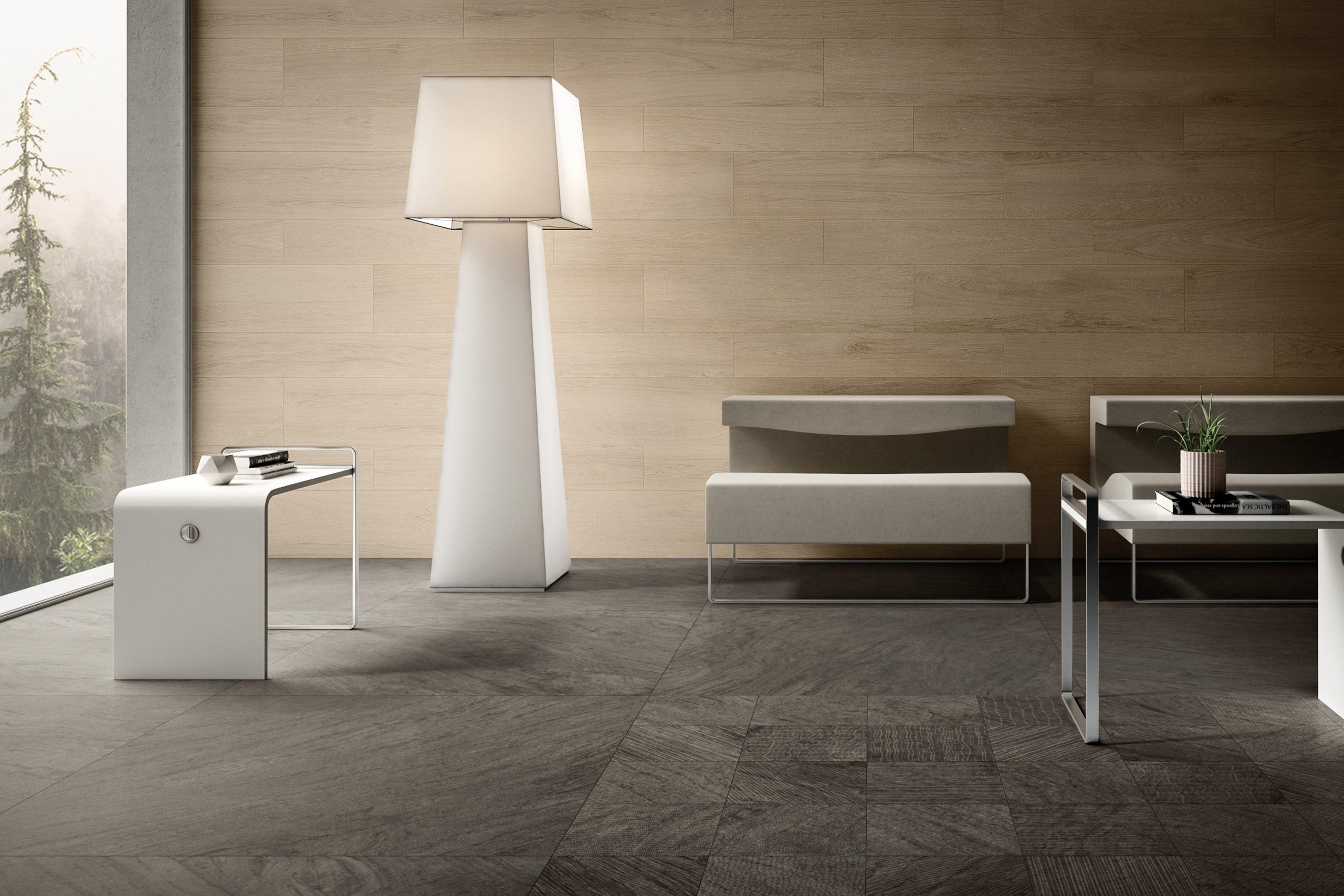 Rendering esterni interni fotorealistici Caesar living dettaglio sedie